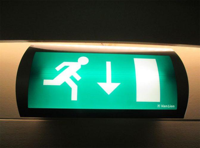 Pensez à votre signalétique pour la sécurité d'entreprise