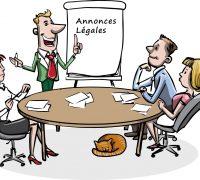 La publication d'annonces légales pour les entreprises