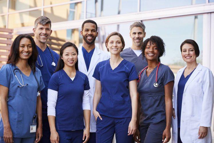 équipe professionnels de santé