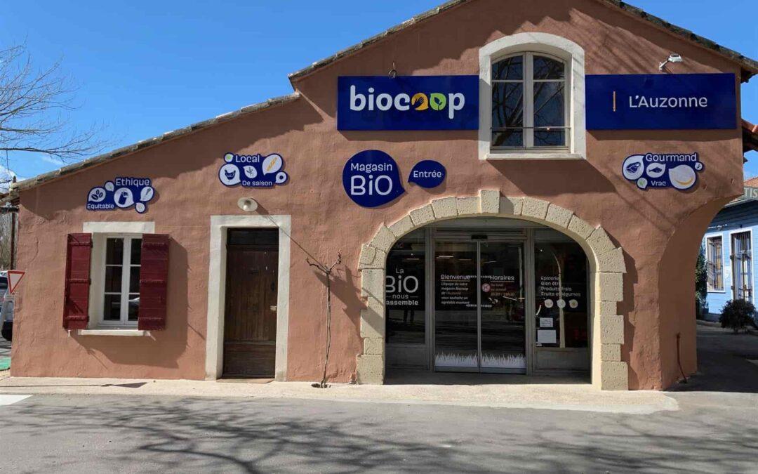 Passer au vert en privilégiant les produits bio de chez Biocoop.