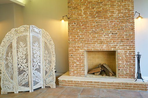 cheminée en brique