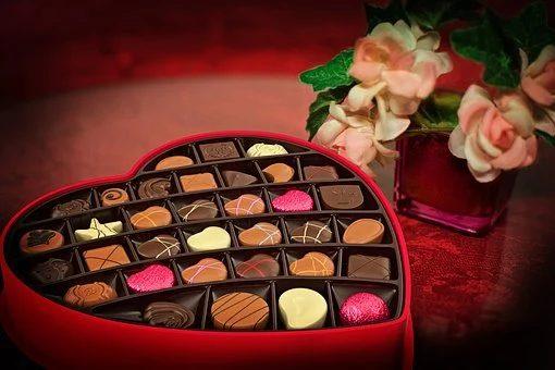 chocolat en boite