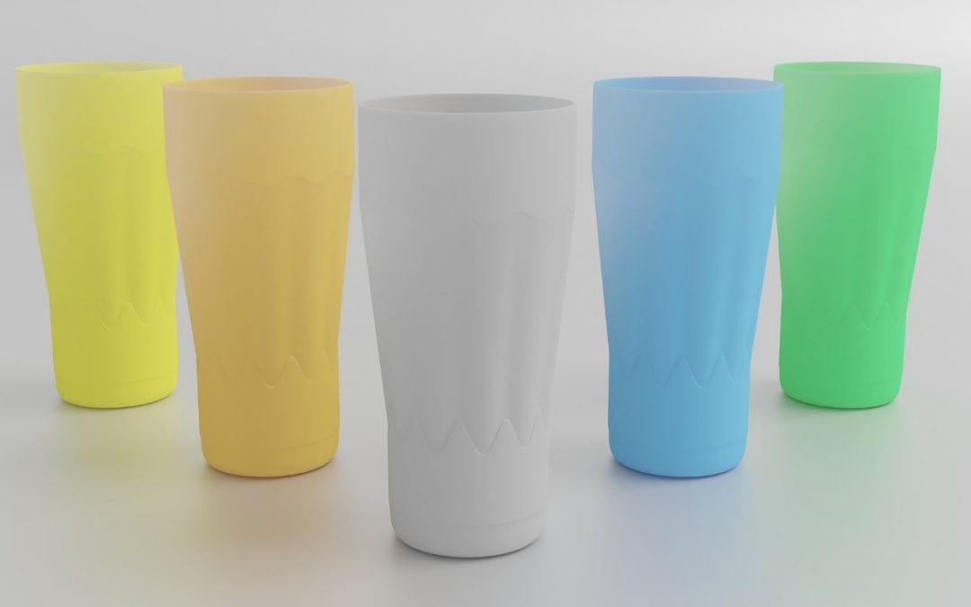goblets en couleur