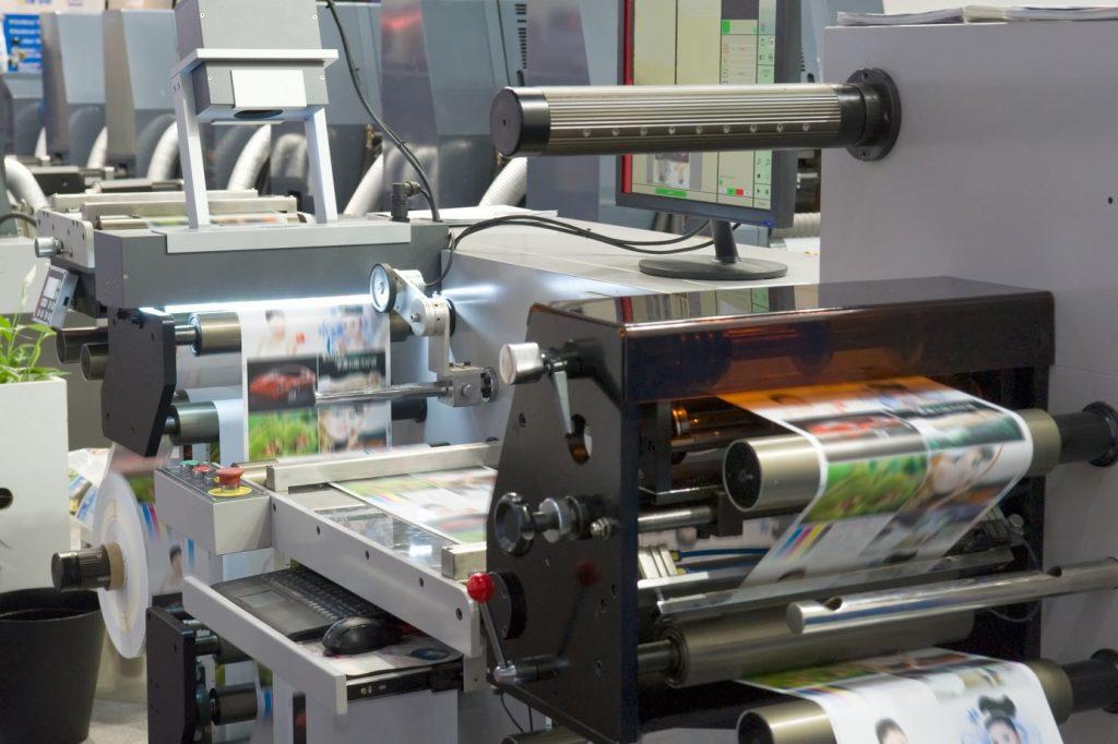 machine à imprimer industriel