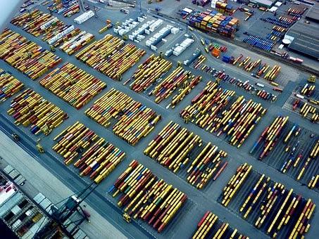 gestion marchandise port