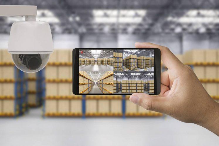 Surveillance d'un entrepôt