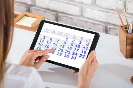 programme calendrier