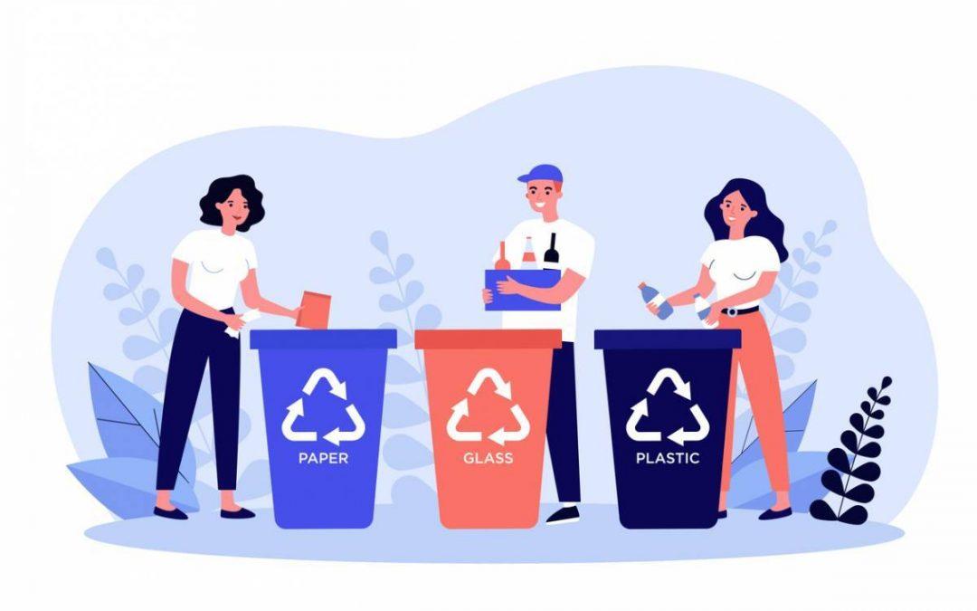 Le recyclage de déchets : une démarche militante et engagée