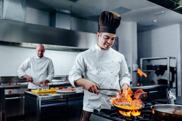 Veste de cuisine professionnelle