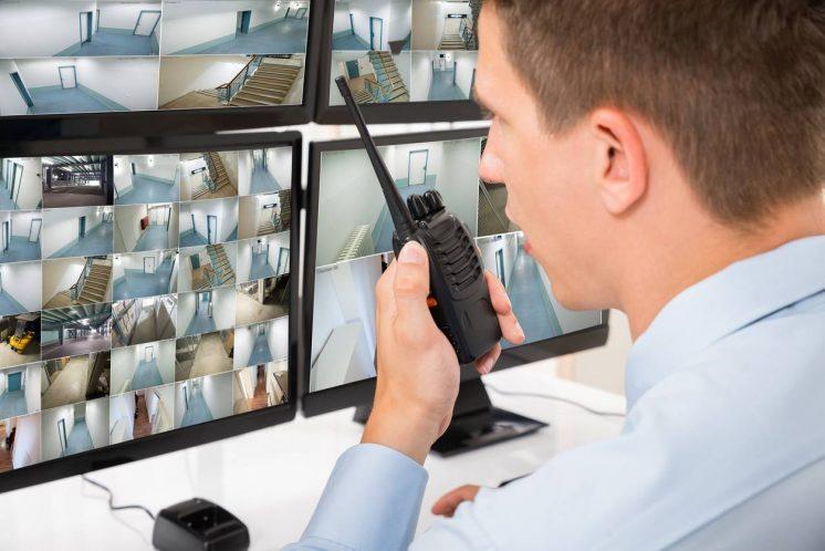 caméra vidéosurveillance sécurité entreprise